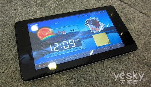 Android系统!华为推出首款平板电脑IDEOS S7