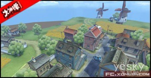 《大冲锋》游戏地图介绍