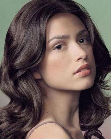 女头发剃花纹图片