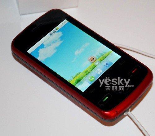 """金长虹智能手机,以其""""金品智""""的品牌主张, """"世界的中国手机""""的品牌"""