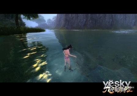 《九阴真经》泳装性感再现极度沉鱼之美美女食族人jvod//图片