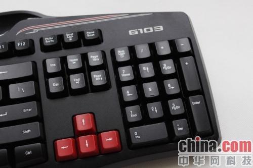 轻松征服网游 罗技g600鼠标和g103键盘评测