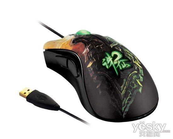 雷蛇发布炼狱蝰蛇《诛仙2》典藏版游戏鼠标