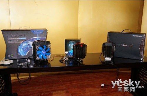 神奇液态金属 依米康CPU散热器产品发布会图片