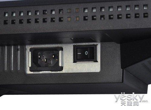 显示器电源接口及显示器开关
