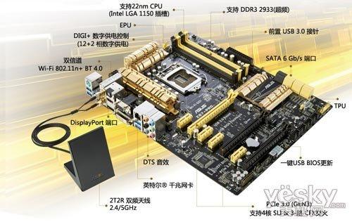 中高端品质之选 华硕主板z87-pro造完美平台
