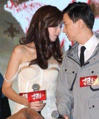 泰国最美变性人Poy与张家辉 扫毒 上演吻戏 组图图片