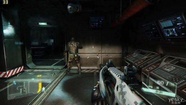 《孤岛危机3》游戏运行画面