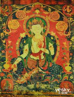 藏族传统花纹纹理