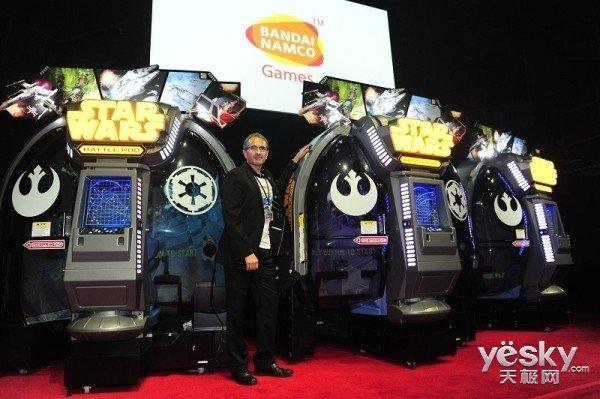 日本开卖《星球大战》驾驶舱游戏机