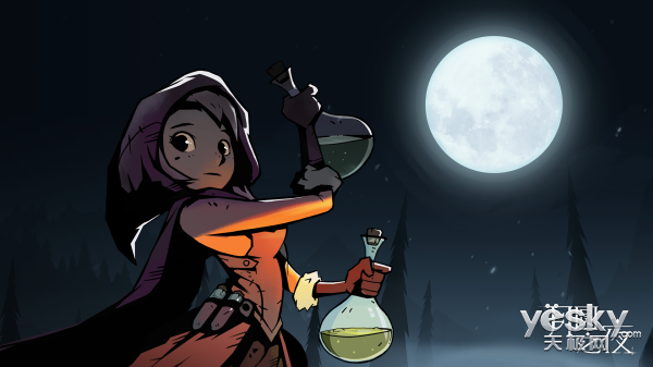 小心,你的每一步都会使药水发作――月圆之夜药剂师DLC评测