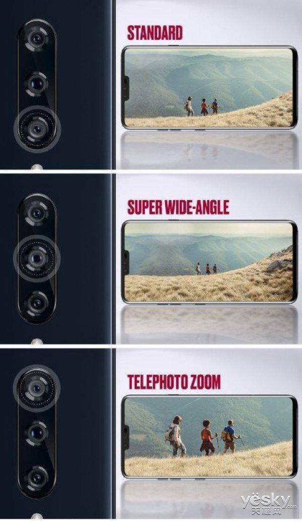 LG首发5颗镜头旗舰手机 6.4寸屏+骁龙845售价900美元