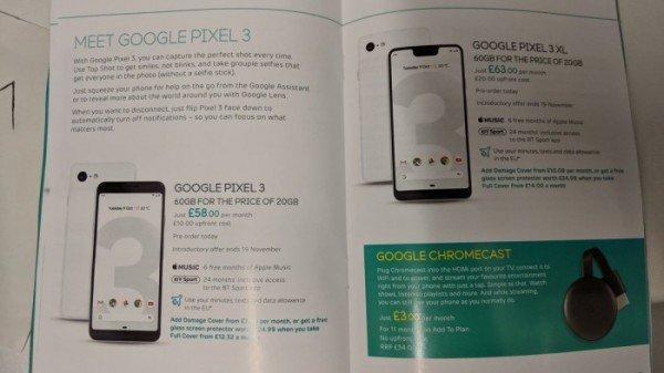 10月9日发布 谷歌Pixel Slate/Pixel 3最新消息汇总