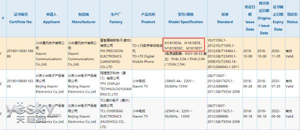 疑似小米MIX 3获得3C认证,就差小米官方揭晓发布时间了