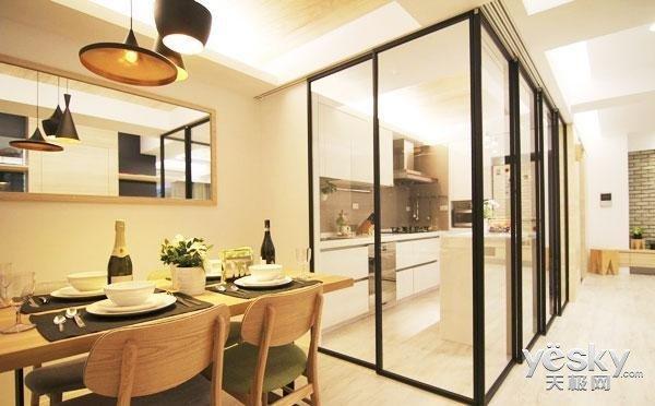 厨房作为重油烟的区域 怎样才能减少对其他地方的影响呢?