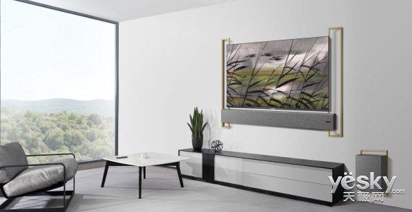 """家居电视墙装修没烦恼!买个""""美美哒""""电视就可以啦"""