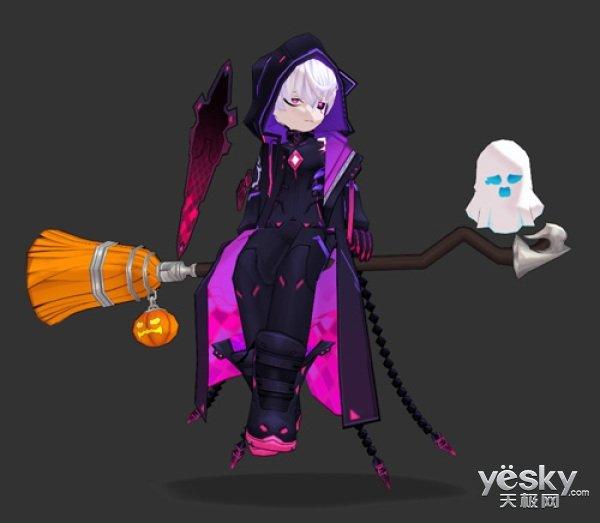 《艾尔之光》万圣节大狂欢 魔女的扫帚骑宠免费送