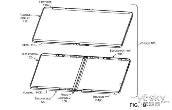 微软Surface仙女座新料:平板模式屏幕自动增加分辨率