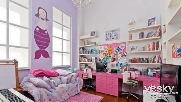 缤纷少女心 让你领略色彩强大的空间塑造能力