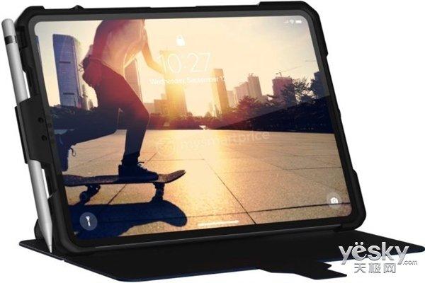 苹果iPad Pro保护壳谍照曝光:超窄边框,无刘海