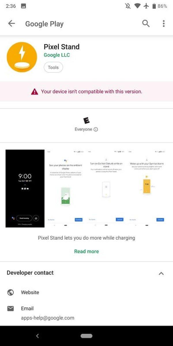 谷歌Pixel Stand App登陆Google Play商店:优化音乐播放插件