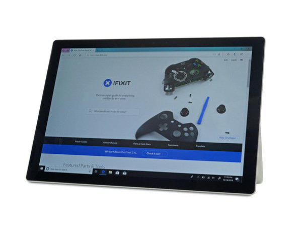 微软Surface Pro 6与其他产品相比,拆解及重组都很繁琐