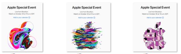 苹果10月新品发布会邀请函放出,你看出什么了吗?新iPad主角无疑