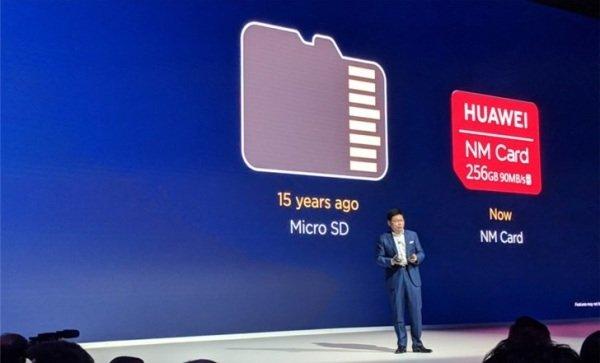 华为推出Nano Memory微型存储卡:大小和Nano SIM卡一样