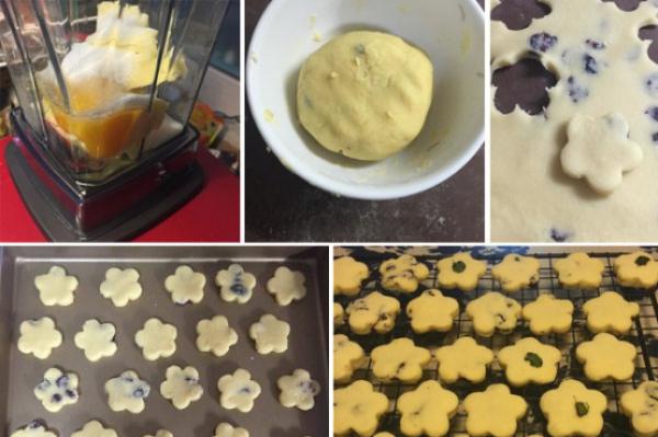 极客美食:料理机2步搞定黄油小饼干