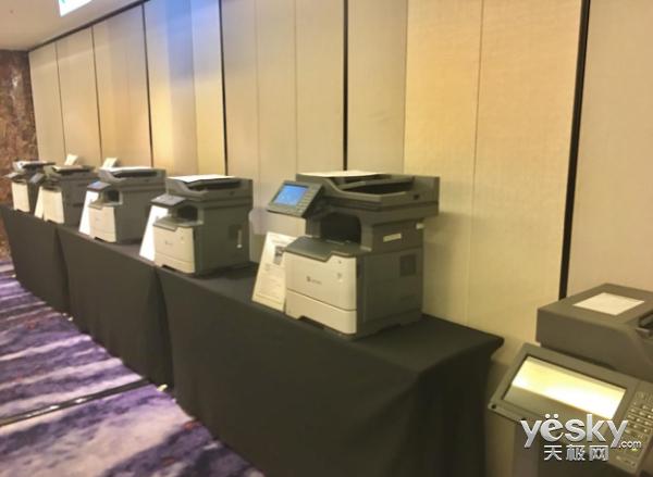 利盟发布全新一代12款激光打印机
