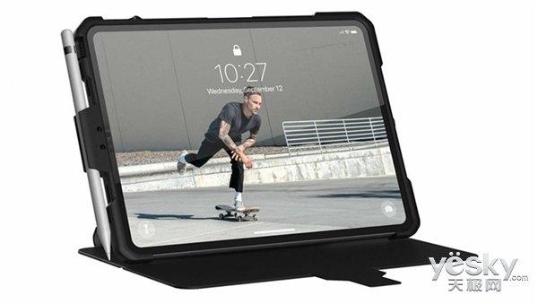 iPad Pro保护壳曝光:超窄边框设计+USB-C接口确认