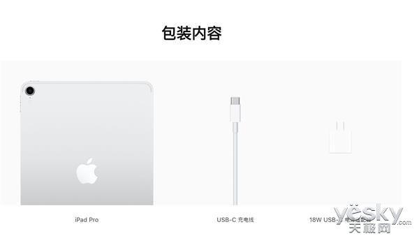 新一代iPad Pro改用USB-C接口,支持18W快速充电