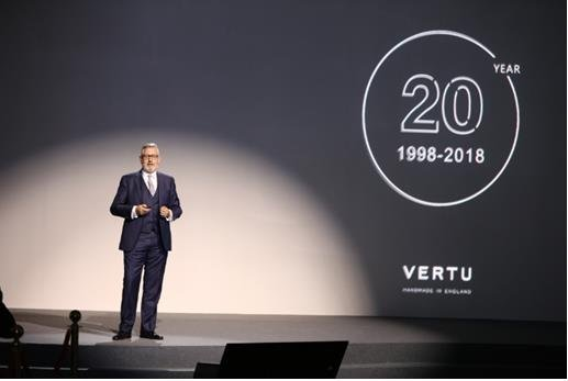VERTU全新Aster P系列于中国全球首发