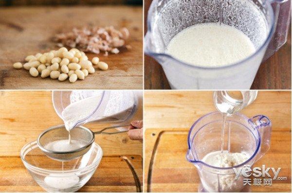 极客美食:料理机巧做红透ins的花生奶露