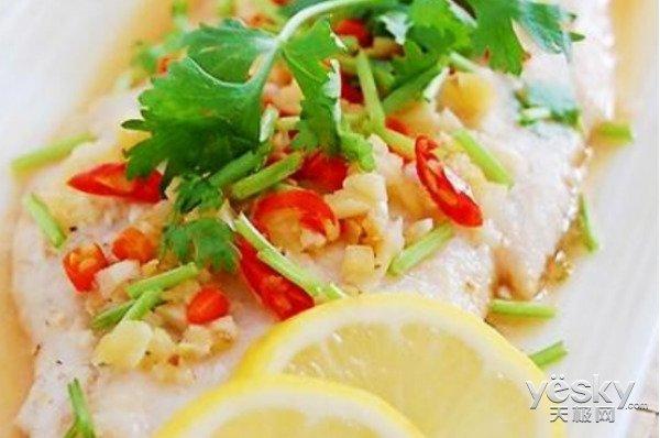 极客美食:电蒸箱1步搞定网红柠檬蒸鱼柳