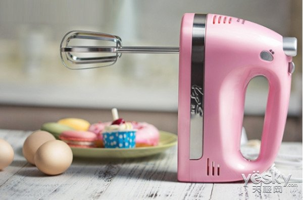 极客美食:打蛋器巧做宝宝辅食蛋黄饼干