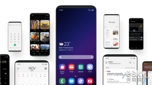 不忘老用户!三星公布One UI升级计划,三星Note8/S8系列也有份