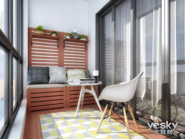 阳台的类型决定它的适用范围  阳台都能做什么?