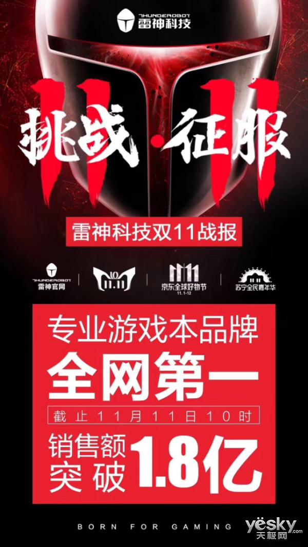 双11异路风景!雷神城市巡游南京站别样引爆!