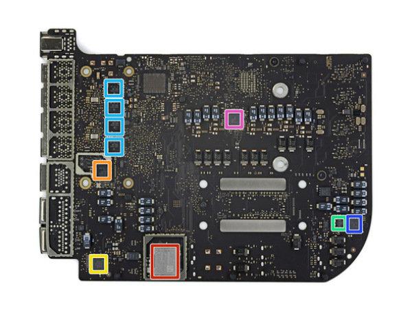 Mac mini 2018拆解 仅内存可 DIY ,接口损坏就要换主板