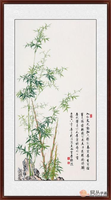 追求完美的画家李传波 品他笔下的国画竹子图片