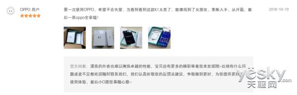 OPPO K1双11刷新线上单品日销量纪录 产品布局完善满足市场需求