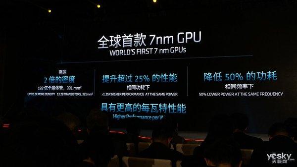 为云而设计全球首款7nm GPU:AMD Radeon Instinct MI60