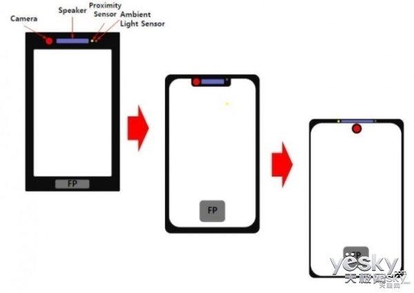 三星Galaxy S10渲染图曝光:真无边框OLED屏,屏下摄像头这下稳了