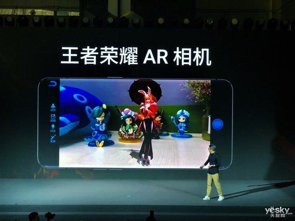 脑洞大开 OPPO王者荣耀AR相机带你开启次元合影新玩法