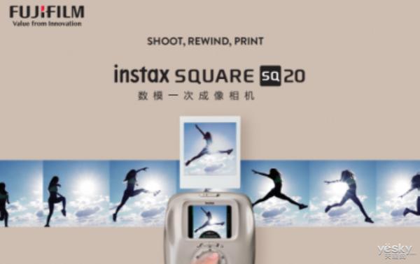 富士胶片发布首台具有变焦功能的instax相机 掀方形艺术个性潮流