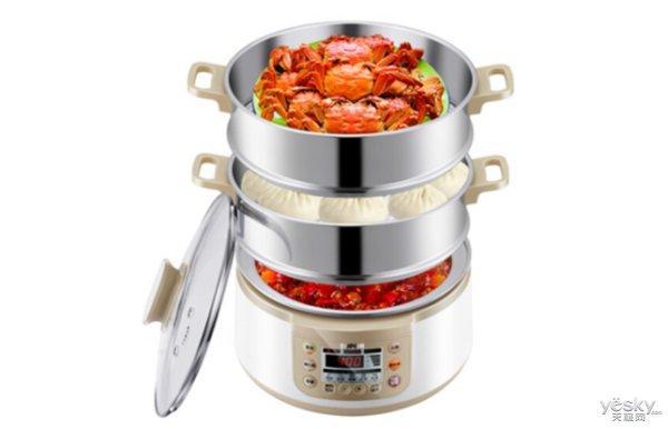 极客美食:松软香甜―电蒸锅版萝卜包