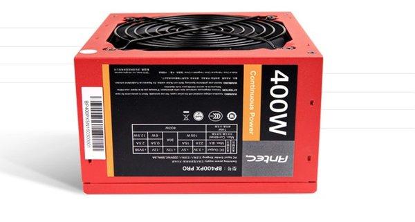 入门用户之选 安钛克BP400PX电源仅售219元