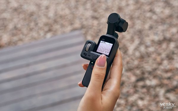 大疆发布Osmo Pocket再次发力云台市场
