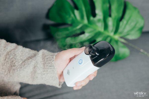 比手机更便携 睿康UA100超声波雾化器评测